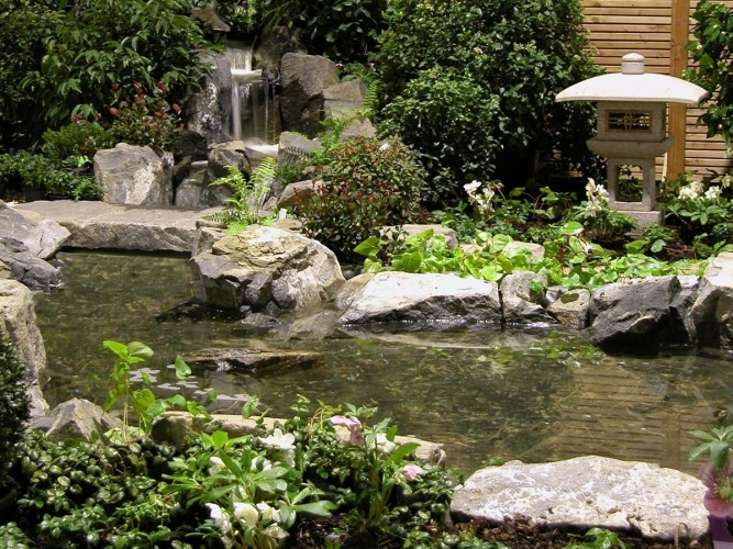 Wasserfall Gartenträume